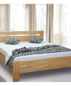 Postel   MEGAN LUX - Postele barva dřeva - Sconto nábytek