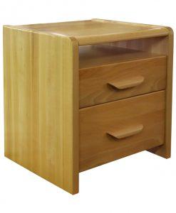 Noční stolek  MEGAN - Noční stolky barva dřeva - Sconto nábytek