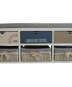 Lavice LAVIA I 6 - Lavice bílá - Sconto nábytek