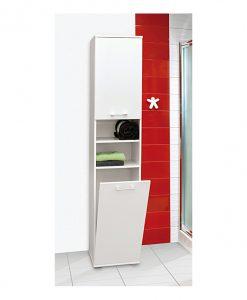 Skříňka s košem  TORY - Koupelnové skříňky  - Sconto nábytek