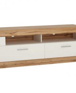 TV stolek  MERIDA - TV stolky bílá - Sconto nábytek