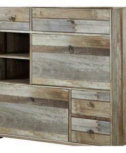 Botníková komoda  BONANZA - Skrinky na topánky barva dřeva - Sconto nábytek