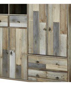 Botník   BONANZA - Skrinky na topánky barva dřeva - Sconto nábytek