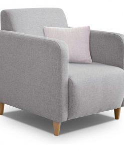 Křeslo   ETRO - Křesla šedá - Sconto nábytek
