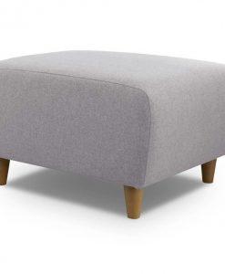 Taburet   ETRO - Taburety šedá - Sconto nábytek