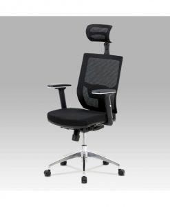 Kancelářská židle   STUART - Židle černá - Sconto nábytek