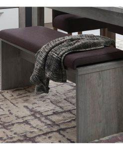 Lavice   PORTO - Lavice šedá - Sconto nábytek