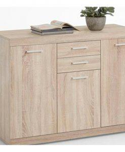 Komoda  BRISTOL 3 XL - Komody barva dřeva - Sconto nábytek