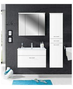 Vysoká skříň  SPLASH 70 - Koupelnové skříňky  - Sconto nábytek