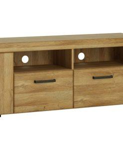 TV stolek  CORTINA - TV stolky barva dřeva - Sconto nábytek