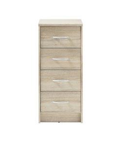 Komoda  OPTIMUS 38-000-66 - Komody barva dřeva - Sconto nábytek