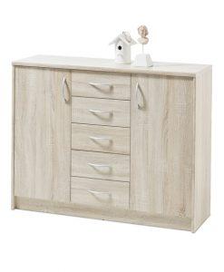 Komoda  OPTIMUS 38-007-66 - Komody barva dřeva - Sconto nábytek