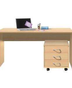 Psací stůl  OPTIMUS 39-007-27 - Stoly a stolky barva dřeva - Sconto nábytek