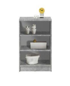 Regál  OPTIMUS 35-001-D5 - Regály šedá - Sconto nábytek