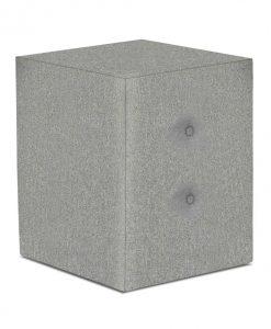Noční stolek   FABBY - Noční stolky šedá - Sconto nábytek