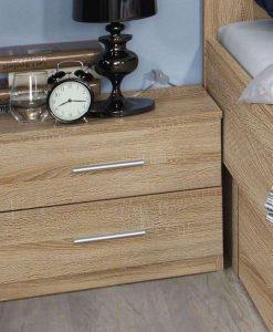 Noční stolek  ISOTTA SON - Noční stolky barva dřeva - Sconto nábytek