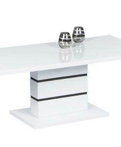 Konferenční stolek   CLARA - Stoly a stolky bílá - Sconto nábytek