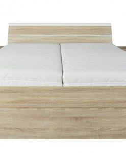 Postel  MARS - Postele barva dřeva - Sconto nábytek