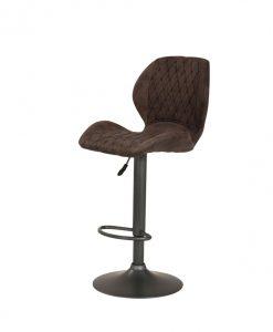 Barová židle   SONJA H - Židle hnědá - Sconto nábytek