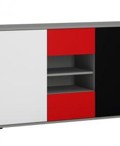Komoda  LASER - Komody vícebarevná - Sconto nábytek