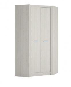 Rohová skříň  LILO - Šatní skříně barva dřeva - Sconto nábytek