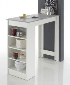 Barový stůl  MOJITO - Barové stoly bílá - Sconto nábytek