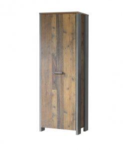 Předsíňová skříň  CLIF - Předsíňové skříně barva dřeva - Sconto nábytek