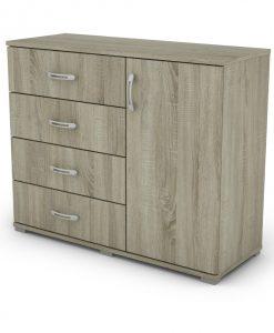 Komoda  GITA - Komody barva dřeva - Sconto nábytek