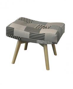 Taburet  HELSINKI - Taburety šedá - Sconto nábytek