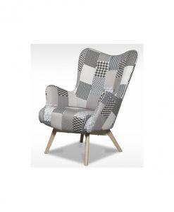 Křeslo  HELSINKI - Křesla šedá - Sconto nábytek