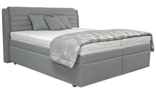 Čalouněná postel  YORK – Postele šedá