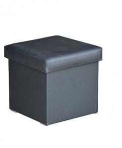 Taburet   GABI - Taburety černá - Sconto nábytek