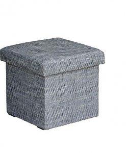 Taburet   GABI - Taburety šedá - Sconto nábytek