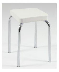 Stolička  SANDRA H - Stoličky bílá - Sconto nábytek