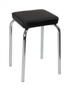Stolička  SANDRA H - Stoličky černá - Sconto nábytek