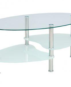 Konferenční stůl   HAMBURG - Stoly a stolky průhledná - Sconto nábytek