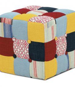 Taburet  ELZA - Taburety vícebarevná - Sconto nábytek