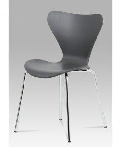 Jídelní židle  AURORA - Židle šedá - Sconto nábytek