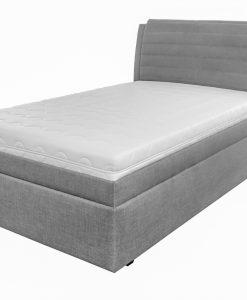 Čalouněná postel  YORK - Postele šedá - Sconto nábytek