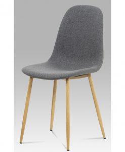 Jídelní židle  ADRIANNE - Židle šedá - Sconto nábytek
