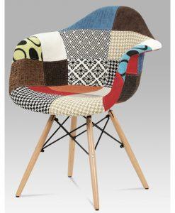 Jídelní židle  ANGELA - Židle vícebarevná - Sconto nábytek