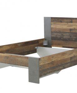 Postel   CLIF - Postele barva dřeva - Sconto nábytek