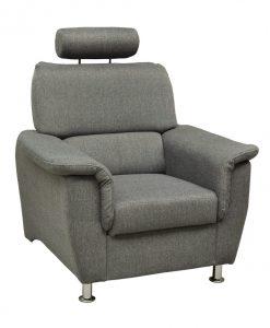 Křeslo  MALAGA - Křesla šedá - Sconto nábytek