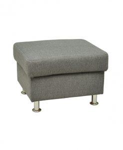 Taburet  MALAGA - Taburety šedá - Sconto nábytek