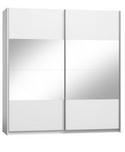 Šatní skříň  PULA - Šatní skříně bílá - Sconto nábytek
