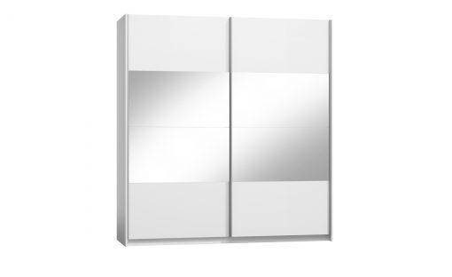 Šatní skříň  PULA – Šatní skříně bílá