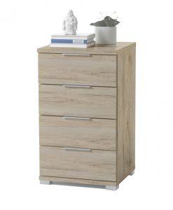 Noční stolek  KORON 4 - Noční stolky barva dřeva - Sconto nábytek