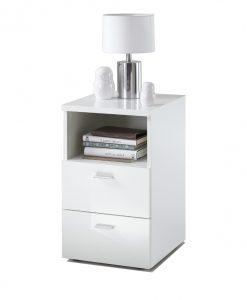 Noční stolek  COLIMA - Noční stolky bílá - Sconto nábytek
