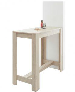 Barový stůl  HUGO - Barové stoly barva dřeva - Sconto nábytek