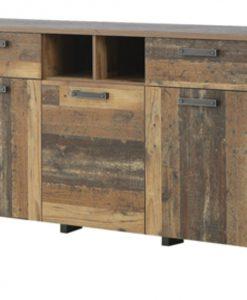 Komoda  CLIF - Komody barva dřeva - Sconto nábytek
